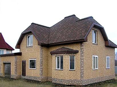 Фото отделки фасада деревянных домов